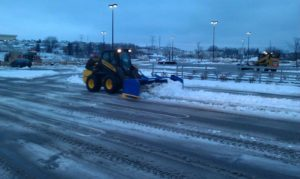 Skid-steer-snow