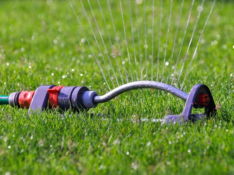 water your lawn in the late fall time in Minnesota